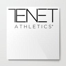 Tenet Athletics - Classic Logo - White Metal Print