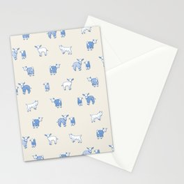 Goat Pajama Party Stationery Cards