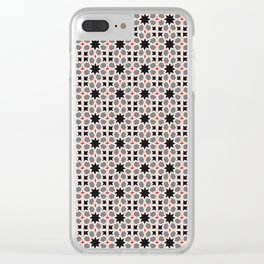 Azulejo, Geometric Pattern Clear iPhone Case