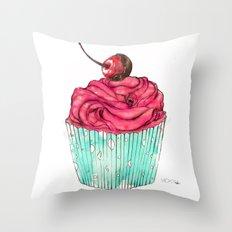 Creative Cupcake... Throw Pillow