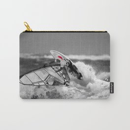 surf santa - wind surf Carry-All Pouch