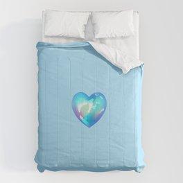 Crystal Heart Solo Version - Blue BG Comforters