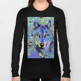 WOLF IN THE GARDEN Long Sleeve T-shirt