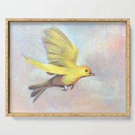 Goldbird Variations One Serving Tray