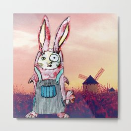Harriet Quixote Metal Print