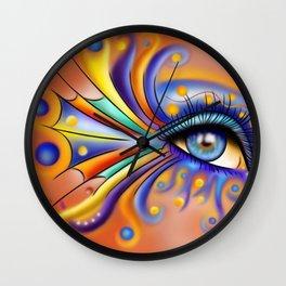 Arubissina V1 - fish eye Wall Clock