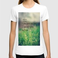 jane austen T-shirts featuring Agony and Hope Jane Austen by KimberosePhotography