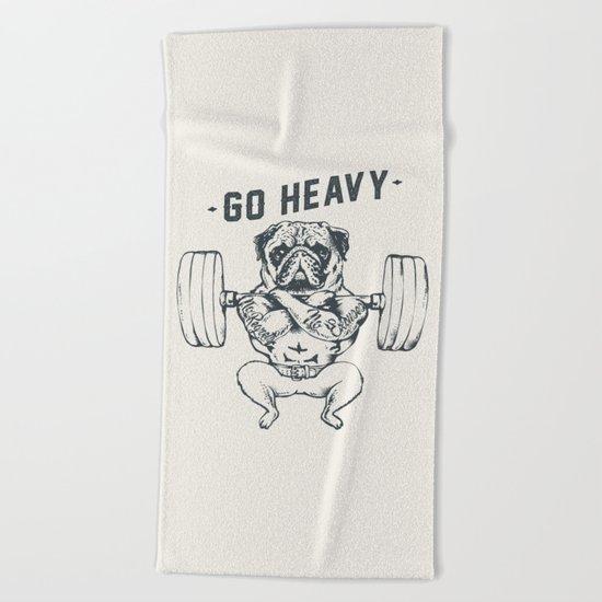 GO HEAVY Beach Towel