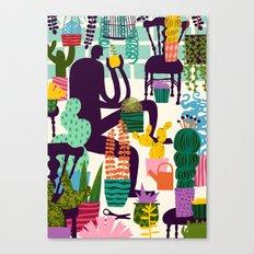 Natural Recall poster design Canvas Print