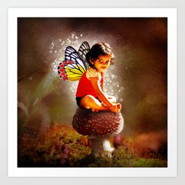 Indy Fairy Art Print