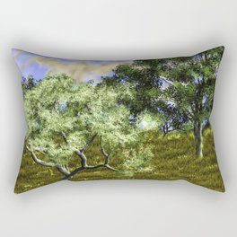 Summer Time In Europe Rectangular Pillow