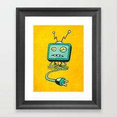 Edna TV Framed Art Print