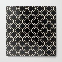 Trellis Patter II Metal Print