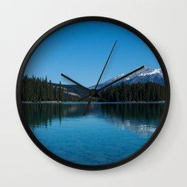 Pyramid Lake Photography Print Wall Clock