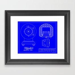 Mosler Cannonball Framed Art Print
