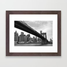 The Big City Framed Art Print