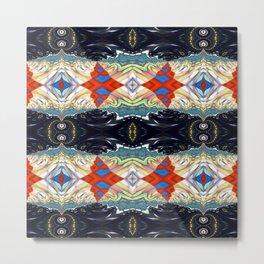 Vibrational Pattern 1 Metal Print