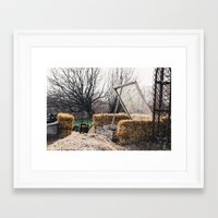 nursery Framed Art Prints featuring Nursery  by Lizabeth Bennett