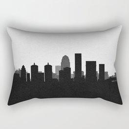 City Skylines: Louisville Rectangular Pillow