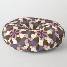 Warm Geo Pattern  Floor Pillow