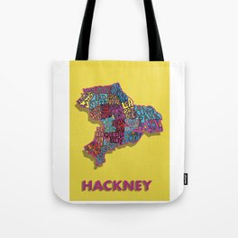 Hackney - London Borough - Colour Tote Bag