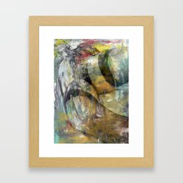 An Abstract Kind of Love Framed Art Print