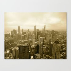 Chicago - View from John Hancock Canvas Print