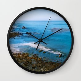 Low Tide at Little  C o r o n a Wall Clock