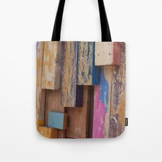 Paint Sticks Tote Bag