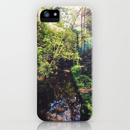 Down by the Stream iPhone Case