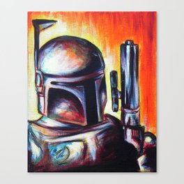 It's a Trap! Part 1: Boba Fett Canvas Print