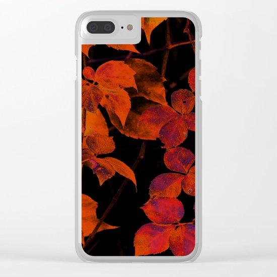 It's Fall II Clear iPhone Case