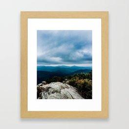 Blue Ridge Mountain Song Framed Art Print