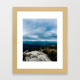 Blue Ridge Mountain Song Framed Art Print