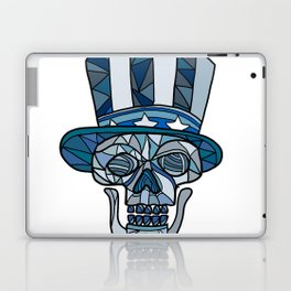 Uncle Sam Skull Mosaic Laptop & iPad Skin