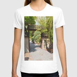 Entrance gate of the Japanese garden T-shirt