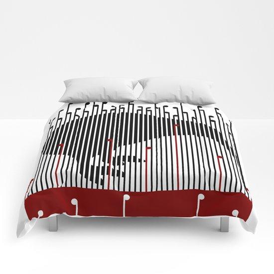Kiwi in Rapou Comforters