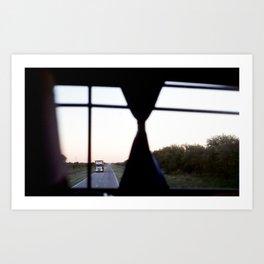 El bus, Film Photography Print Art Print