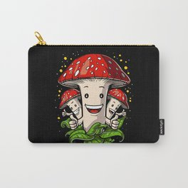 Magic Mushrooms Psychedelic Psilocybin Shrooms Carry-All Pouch
