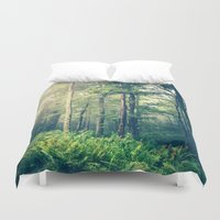 autumn Duvet Covers featuring Inner Peace by Olivia Joy StClaire