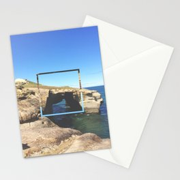 Tunnel Beach - colour Stationery Cards