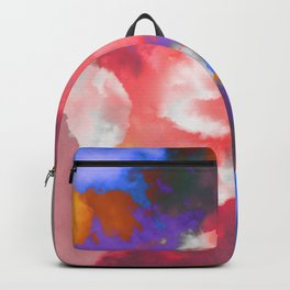 Colorful clouds in the sky II Backpack