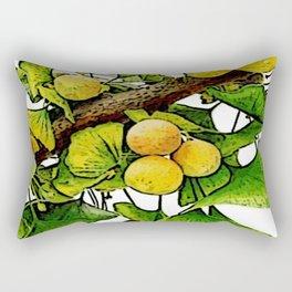 gingko immerse relaxation Rectangular Pillow