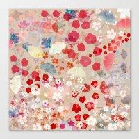 blossom Canvas Prints featuring Blossom by Marta Olga Klara
