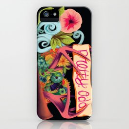 pretty. odd iPhone Case