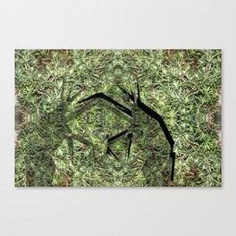 Grass Hoppers Canvas Print