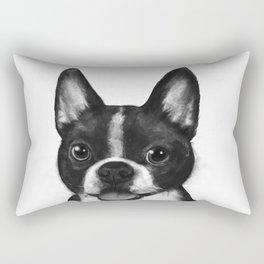 boston terrier Rectangular Pillow