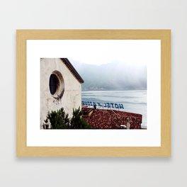 Hotel du Lac Framed Art Print