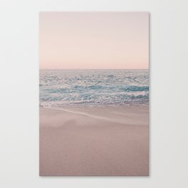 ROSEGOLD BEACH Canvas Print