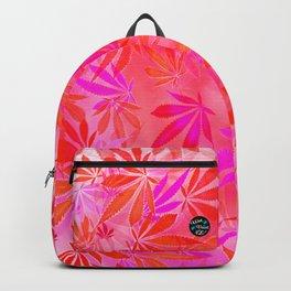 Blush Cannabis Swirl Backpack